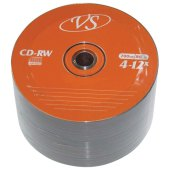 диски cd-rw vs 700mb 4-12x 50шт bulk vscdrwb5001 (ш/к - 20168 )
