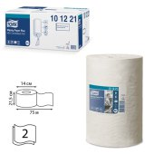 полотенца бум. с центр. вытяж. мини tork (система m1) компл. 11шт, advanced, 75м, 2сл, белые, 101221
