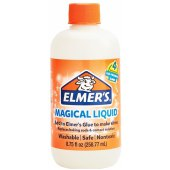 "активатор для слаймов elmers ""magic liquid"", 258мл (4 слайма), 2079477"