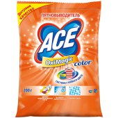 "пятновыводитель ace ""oximagic color"", порошок, 200г"