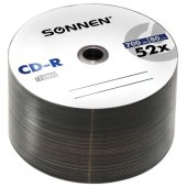 диски cd-r sonnen 700mb 52x bulk 50шт, 512571