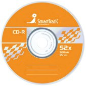 диск cd-r 700mb smart track 52x cake box (50шт), st000151