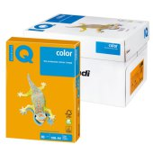 бумага iq color а4, 80 г/м, 100 л., умеренно-интенсив (тренд) cтарое золото ag10 ш/к 11606